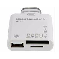 Adaptador Leitor De Ipad 1 E Ipad 2 Usb Sd Camera Connection