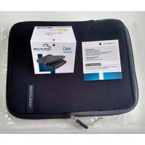 Case Para Ipad Tablets 10 - Neoprene Colors Preto Multilaser
