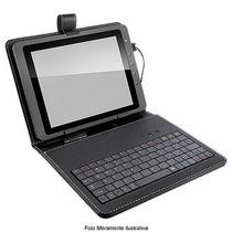 Teclado Mini Slim Usb Capa Tablet 9,7