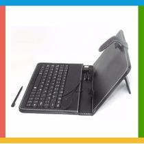 Capa Para Tablet 7 C/ Teclado Usb + Caneta