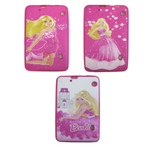 Capa Silicone Barbie Para Tablet Multilaser M9 Nb148