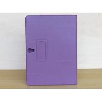 Capa Case Couro Roxa Tablet Samsung Galaxy Tab S 10.5 T801