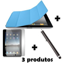 Capa Case Smart Cover Magnetica P/ Apple Ipad 2 3 4 E Retina