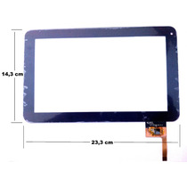 Tela Touch Tablet Cce Tr91 Tr 91 9 Polegadas Envio Hoje !