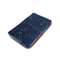 Capa Jeans Samsung Galaxy Tablet Tab 2 7 Pol. P3100 P3110