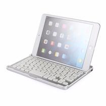 Capa Teclado Keyboard Ipad Mini 1 2 3 Alumínio Bluetooth