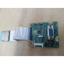 Monitor Samsung B1930n Placa Sinal Bn41-01323b Plum + Cabo
