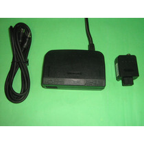 Kit Nintendo 64 Fonte 110 Ou 220v + Rf Com Cabo N64