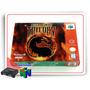 N64 Caixa Mortal Kombat Trilogycom Berço Nintendo 64