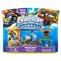 Novo Lacrado Pack Skylanders Spyro Adventure Pirate Seas