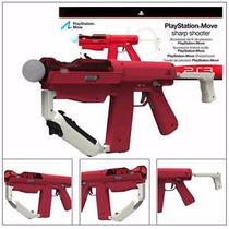 Sharp Shooter Metralhadora P/ Playstation 3 Ps Move Original