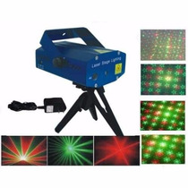 Mini Laser Stage Lighting Projetor Holografico Tripe