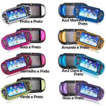 Capa Case Para Proteção De Alumínio Para Ps Vita + Película