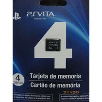 Memory Card 4gb Psvita Ps Vita 4gb Em Estoque Frete Gratis