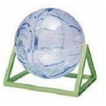 Globo Bola Para Hamster De Exercicios 17cm Com Suporte
