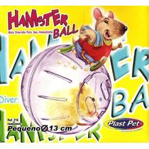 Bola Para Hamster. Dupla Função. Fixa Ou Solta. Super Preço!