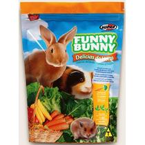 Funny Bunny. Ração P/ Coelho, Porquinho E Hamsters 1,8 Kilos
