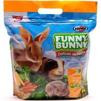 Ração Coelhos Funny Bunny Delícias Da Horta 1,8 Kg 2 Pacotes