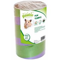 Tunel Para Roedores Com Cama Tamanho G 42gr Pet Shop