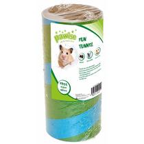 Tunel Para Roedores Com Cama Tamanho M 18gr Pet Shop