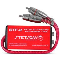 Filtro Automotivo Supressor Anti-ruídos Rca Stf2 Stetsom