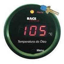 Medidor De Temperatura Do Óleo Digital Racetronix