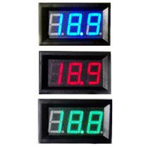 Medidor De Bateria 12v 100v 5~30v Tuning Carro Moto Barco