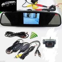 Kit Completo Camera De Ré Com Retrovisor Lcd Wifi