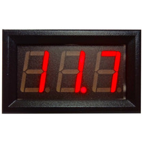 Voltímetro Digital Vermelho 0-100v Bateria Carro Som Arduino
