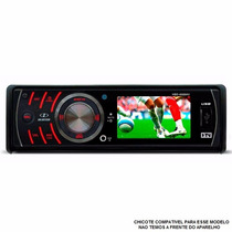 Chicote 16 Vias P/ Dvd Player H-buster Hbd 6688 Tela 2,7