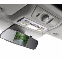 Espelho Retrovisor Com Lcd 4.3 Tela Para Camera Ré Dvd Carro