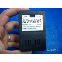 Fonte Para Super Nintendo Fat Ou Baby Testada Bi-volt Snes