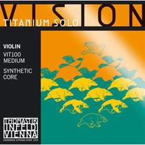 Encordoamento Vision Titanium Solo (violino)