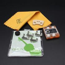 Kit Para Violino. Encordoamento + Cavalete +surdina +flanela