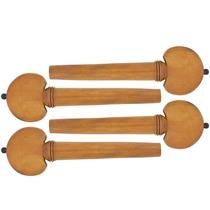 Cravelha Para Violino 4/4 Boxwood Hill 4 Peças Dominante