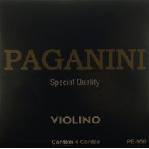 Paganini Jogo De Corda P/ Violino Special Quality Pe-950