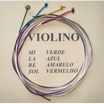 Encordoamento Violino 4/4 Mauro Calixto Cordas Profissionais