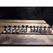 Tarraxa Tipo Gotoh 6 + 6 Para Violão 12 Cordas Qualidade Phx
