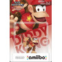 Diddy Kong Amiibo Nintendo Novo Lacrado Sdgames Wiiu Donkey!