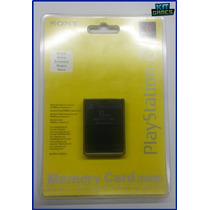 Memory Card 8mb Para Playstation 2 - Original Novo