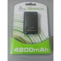 Kit Control Xbox 360 Slim Carregador Bateria 4.800mah