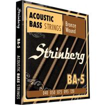 Encordoamento Strinberg Ba5 Para Baixolão 5 Cordas