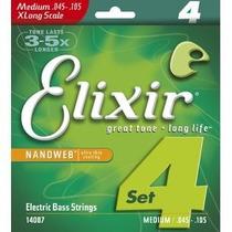 Corda / Encordoamento Para Baixo 045 - Elixir Original Usa
