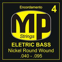 Paganini Jogo De Corda Baixo 4 .040-.095 Nickel Round Wound