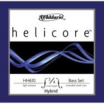 Encordoamento P/ Baixo Acústico Daddario Helicore Hh610 3/4l