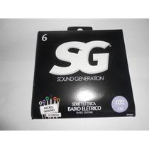 Encordoamento Sg Para Baixo 6 Cordas 032 Nickel Wound