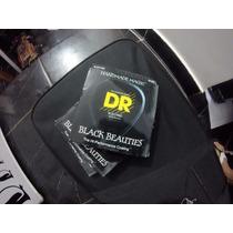 Encordoamento Dr Black Beauties Bkb 5-45 P/ Baixo 5 Cordas