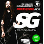 Encordoamento 010 Sg Andreas Kisser Para Guitarra 6670