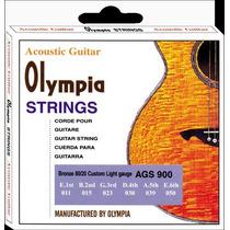 Cordas P/ Violão Aço Olympia Ags900 Aço 0,11 2854
