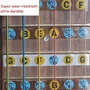 Adesivos Notas Mapa Braço De Guitarra Violão Até As 24 Casas